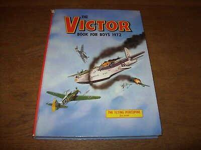 THE VICTOR BOOK FOR BOYS Annual 1972