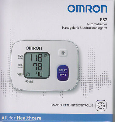 Omron RS 2 Test Winner Wrist Blood Pressure Monitor - NIP from med.