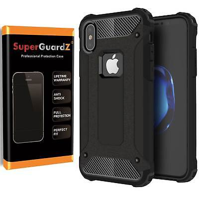 For iPhone XS / X / 10 SuperGuardZ Heavy-Duty Shockproof Case Armor Shield Cover
