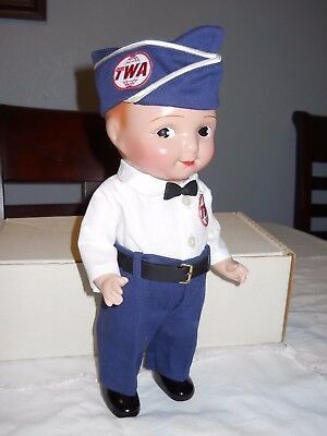 Rare Buddy Lee Composition Twa Pilot Doll