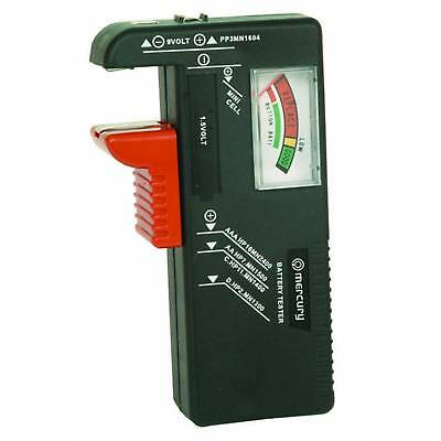 Universal Battery 393 Tester Checker Aa Aaa C D 9V Pp3 Button Mini Cell