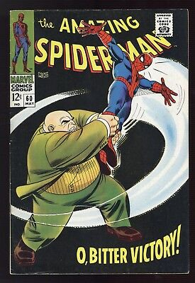 Amazing Spider-man #60 ~ Kingpin Appearance ~ Marvel