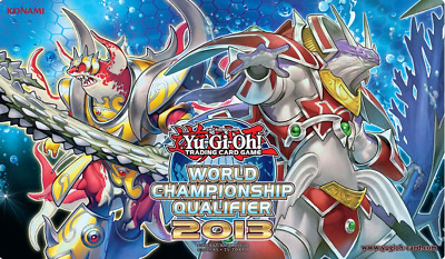 "Yugioh! WCQ 2013 ""Mermail"" monsters Playmat"