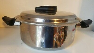 CARICO ULTRA TECH Ultra Core 6qt Stock Pot Cookware T304 SS