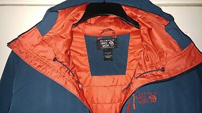 Mens - Mountain Hardwear - Superconductor Hooded Jacket - With Tags - Size L