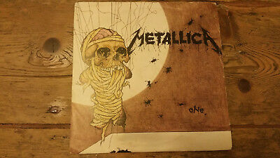 """Metallica One 7""""  uk 1st pressing A1 B1 lovely copy"""