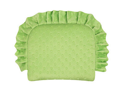 Minky Cotton Soft Cushion For Baby  Green