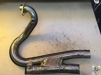 2008 Victory Kingpin Header Rear Cylinder And Exhaust Connector Oem
