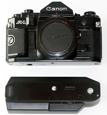 Canon A-1 35mm SLR Film Camera Body Only with Winder