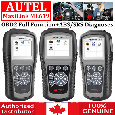 Autel MaxiLink ML619 OBD2 Diagnostic Tool AL619 ABS For Peugeot Citroen Renault