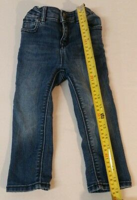 Baby GAP 1969 Mini Skinny Jeans Girls Size 18-24 month  Blue adjustable CUTE