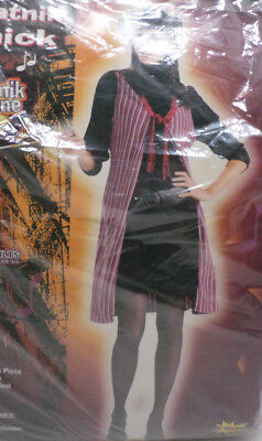 Beatnik Chick Halloween Costume Adult Womens Size Up to 14-16 by Costumania