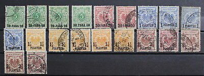 Germany, Turkey, Colllection of Used Stamps, High CV  #a1974