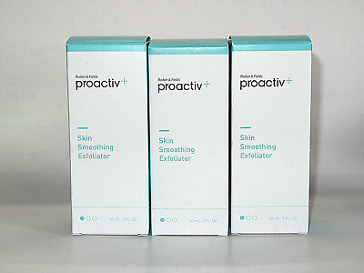 Proactiv+ Plus SKIN SMOOTHING EXFOLIATOR x3 total 180mL CREAMY FACE CLEANSER