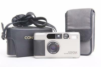 Excellent Contax T2 35mm Point & Shoot Film Camera + New Battery from Japan -5-