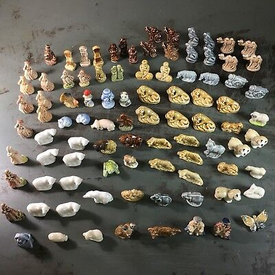 GIANT Mixed LOT Of 92 Wade Whimsies, Red Rose Whoppas Party Cracker Nursery...