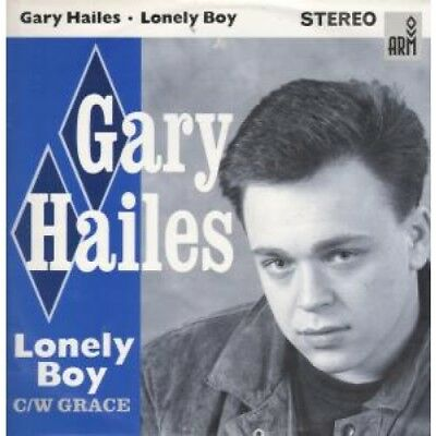 """GARY HAILES Lonely Boy 12"""" VINYL UK Arm 1988 3 Track B/W Grace And Lonely Boy"""