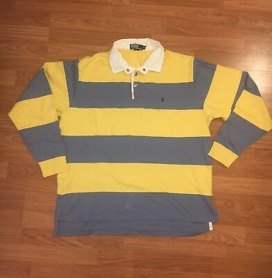 Vintage Polo Ralph Lauren Rugby Shirt Size XL Polo Sport 90s Hip Hop