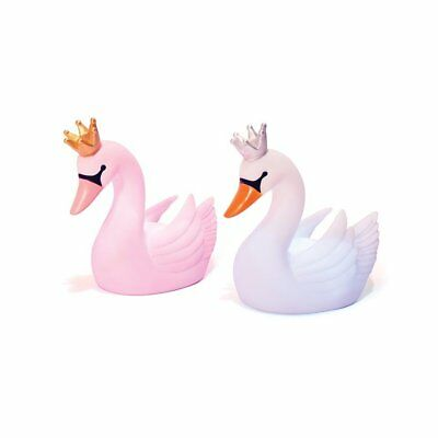 NEW Illuminate Colour Changing LED SWAN Lamp Childrens Night Light