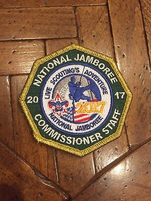 2017 National Jamboree Commissioner Staff Patch, Gold Border