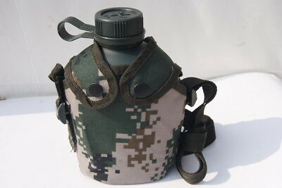 Chinese ARMY PLA Military Issue Type 10 1L Water Bottle Mess Kit Camping Hiking