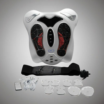 Electromagnetic Wave Pulse Circulation Foot Massager Reflexology Booster  W/gift