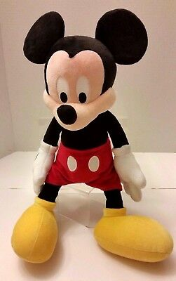 Walt Disney Parks Mickey Mouse Plush Doll Toy 18 Inches