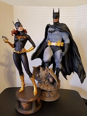 Sideshow Collectibles Batman & Batgirl premium format 1/4