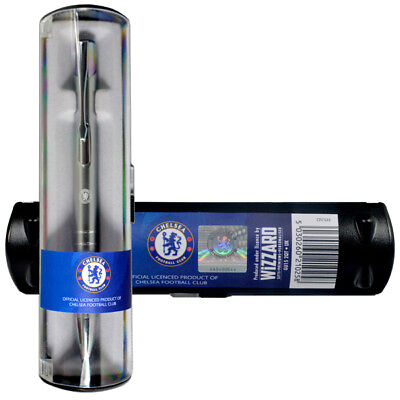 RANGERS GLASGOW FC EXECUTIVE BALL POINT PEN BLUE INK IN A CLEAR GIFT BOX XMAS