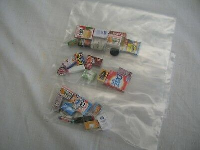 dolls house miniatures - household products