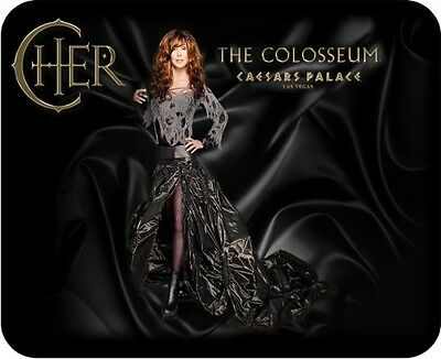 "Cher ""Caesars Palace"" The Colosseum Las Vegas Mousepad ......"