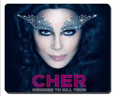 "Cher ""Dressed To Kill"" Tour Mousepad New!!"