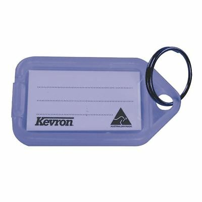 Kevron Plastic Clicktag Key Tag Blue (Pack of 100) ID5BLU100 [SP50034]