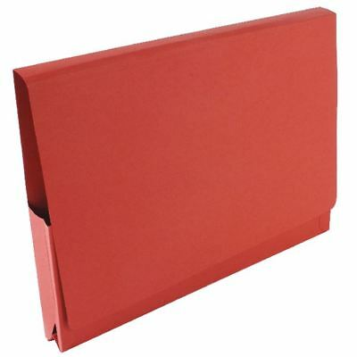 Guildhall Red Pocket Legal Wallet Pack of 50 PW3-RED [GH14028]