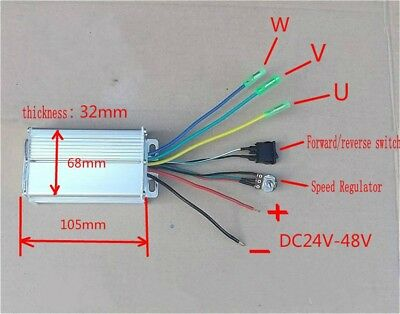 1pcs DC24V-48V Brushless motor controller High Power Brushless Motor Driver 480W