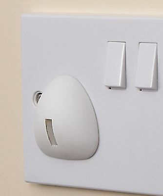 Clippasafe Socket Protector Electric Plug Cover Baby Proof Child Safety X 6