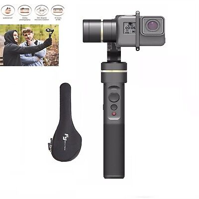 Feiyu G5 V2 3-AXIS Handheld Gimbal Stabilizer for GoPro  Hero 6/5/4/3 Session