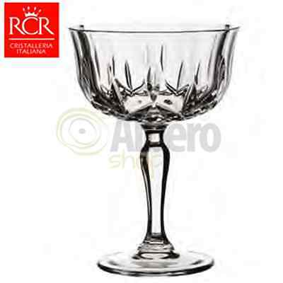 Rcr Opera Set 6 Calici Coppe Champagne 24 Cl