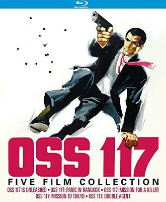 Oss 117: Five Film Collection (1963-1968) (2017, Blu-ray NEUF)