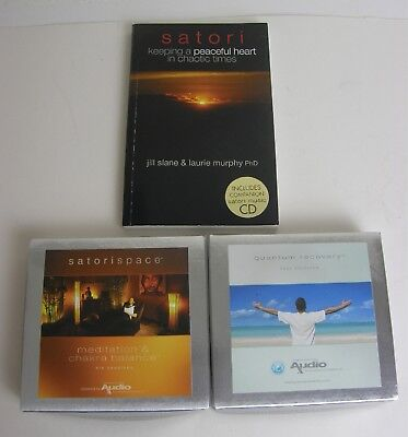 Prescription Audio Hypnotherapy, Relaxation, Hypnosis, 2 Box Set Cd's and Book