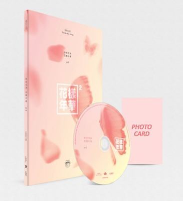 BTS HYYH - In The Mood For Love PT2 -Peach ver. 4th MiniAlbum Booklet+PhotoCard