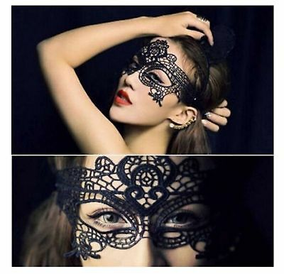 Sexy Lady Empress Lace Mask Eye Mask For Masquerade Ball Party Halloween Costume