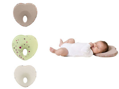 Infant Support Anti Roll Baby Prevent Neck Flat Head Memory Foam Pillow Newborn