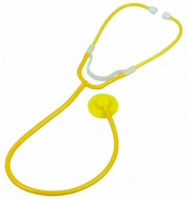 Valuemed Professional Dual Headed Stethoscope in Yellow