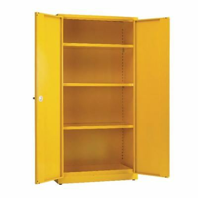 Hazardous Substance Storage Cabinet 72x48x18 inch C/W 3 Shelf  [SBY07594]