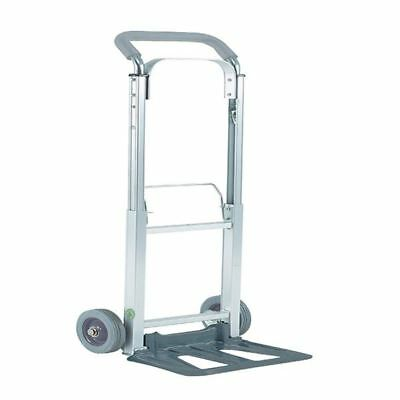 Compact Folding Hand Truck Silver 313195, W380 x D410 x H1100mm [SBY07255]