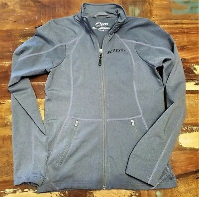 KLIM Womens Sundance Mid Layer Zip Up Athletic Performance Top Size X-Small