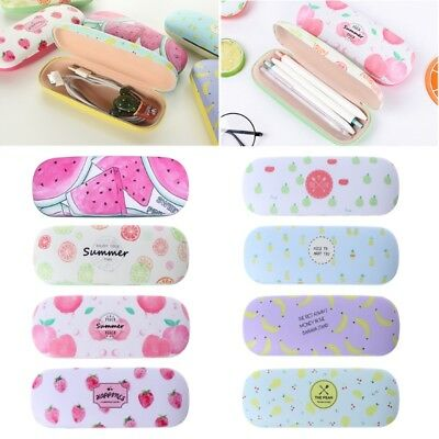 Protable Sunglasses Hard Eye Glasses Case Box Eyewear Protector Pouch Fruit Bag