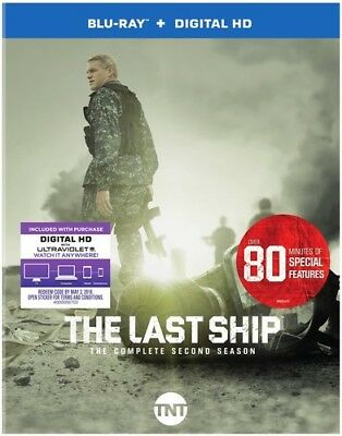 Last Ship: The Complete Second Season (2016, Blu-ray NEUF)3 DISC SET