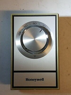 T498A1810 Honeywell Electric Heat Thermostat 40-80F  Beige